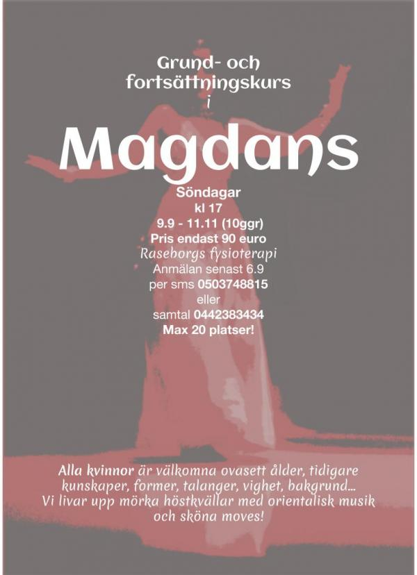Magdans poster 2018